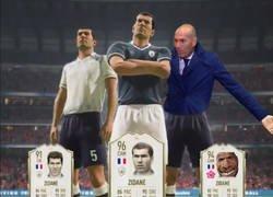Enlace a EA sports reveló las 3 versiones de Zidane para el FIFA 20