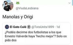 Enlace a Valverde potenciando jugadores