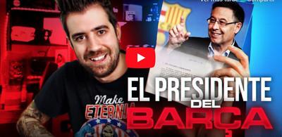 1084991 - El presidente del Barça, Josep María Bartomeu, ha denunciado a @auronplay por llamarle 'Nobita'