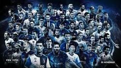 Enlace a Estos son los 55 nominados al mejor once del  FIFPro