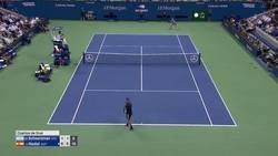 Enlace a El puntazo que Schwartzman ganó contra Nadal y que terminó aplaudiendo en el US Open