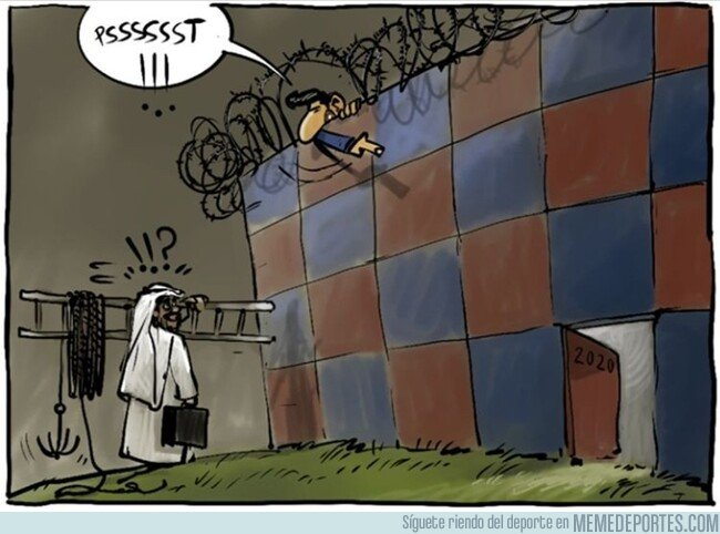 1085118 - Messi deja una puerta abierta a su posible marcha, por @yesnocse