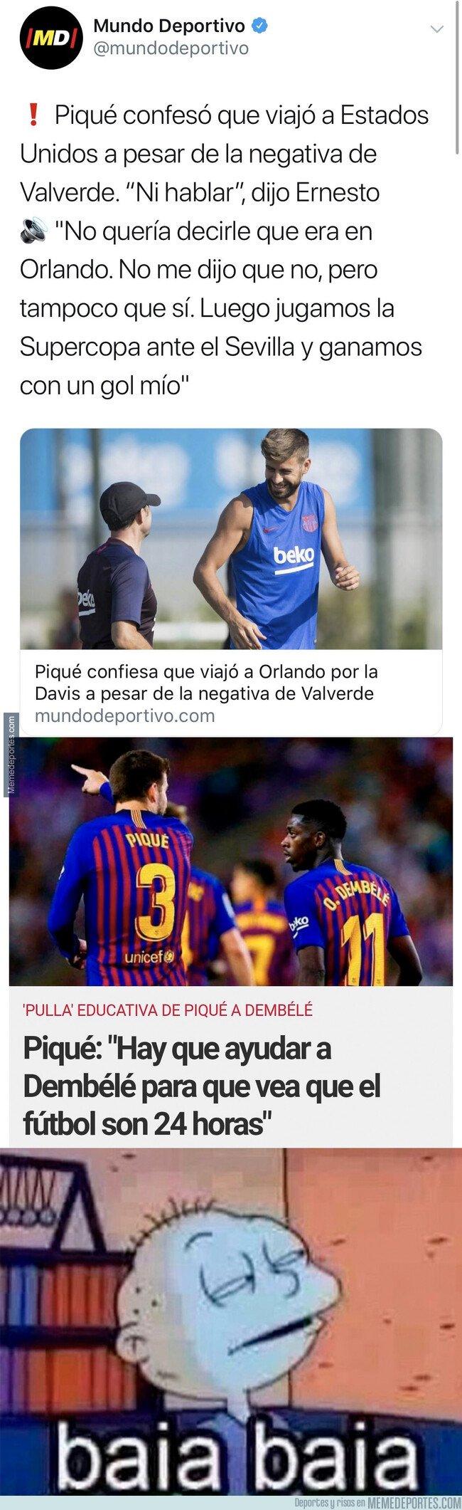1085134 - Dos noticias juntas de Gerard Piqué que deja por los suelos su imagen como jugador del Barça