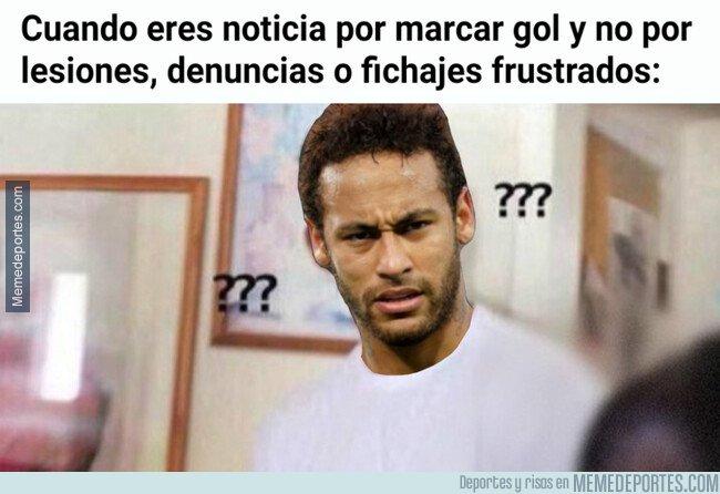 1085137 - Neymar vuelve a ser noticia sobre el terreno de juego