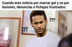 Enlace a Neymar vuelve a ser noticia sobre el terreno de juego