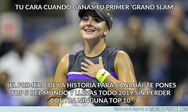 1085165 - Bianca Andreescu, campeona del US Open 2019 (solo tiene 19 años)
