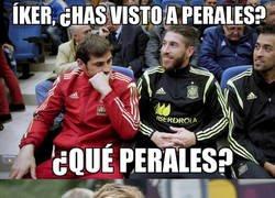 Enlace a Ramos igual a Íker en participaciones con la selección