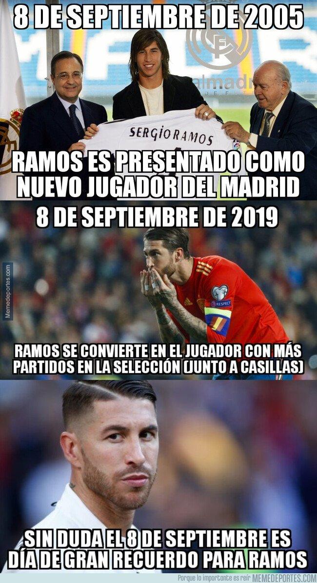 1085242 - Una fecha para el recuerdo de Sergio Ramos