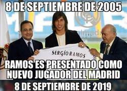 Enlace a Una fecha para el recuerdo de Sergio Ramos