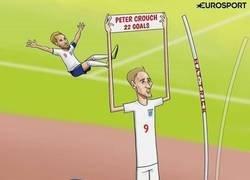 Enlace a Con su hat-trick a Bulgaria, Harry Kane supera Peter Crouch en la tabla de goleadores con Inglaterra, por @zezocartoons