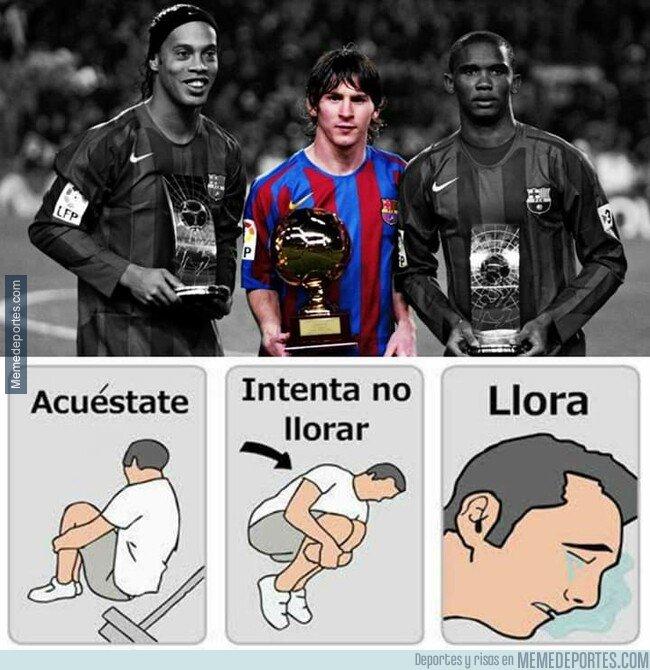 1085254 - Los dos primeros maestros de Messi ya retirados