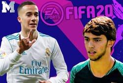 Enlace a Cachondeo absoluto en internet con las medias que tienen Lucas Vázquez y Joao Felix en el FIFA 20