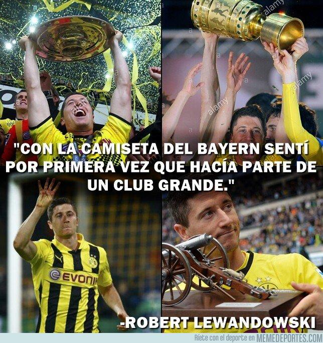 1085410 - Lewandowski es alguien por el Borussia Dortmund. Que nunca lo olvide.