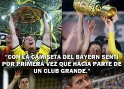 Enlace a Lewandowski es alguien por el Borussia Dortmund. Que nunca lo olvide.