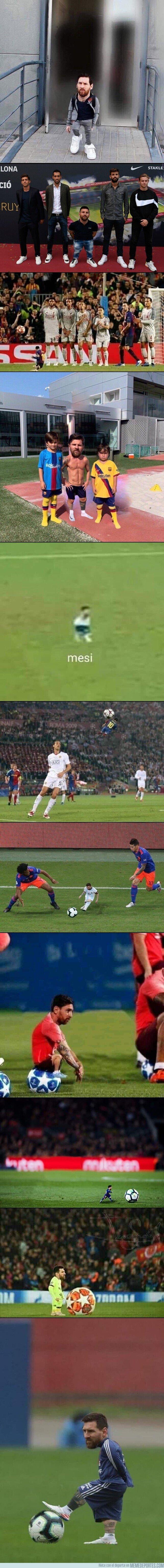 1085412 - Alguien por ahí esta haciendo chops de Messi 'chiquitito' y es un partimiento
