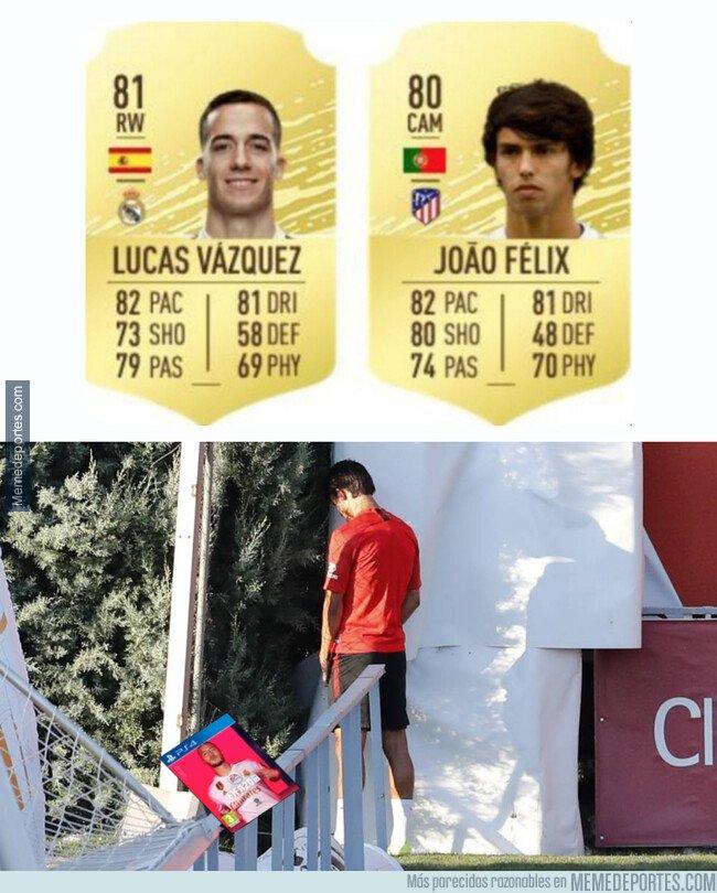 1085460 - Esto debe pensar Joao Félix del FIFA 20
