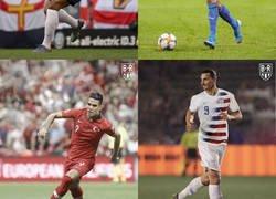 Enlace a Si los futbolistas jugaran en la selección del país en el que juegan, por @brfootball