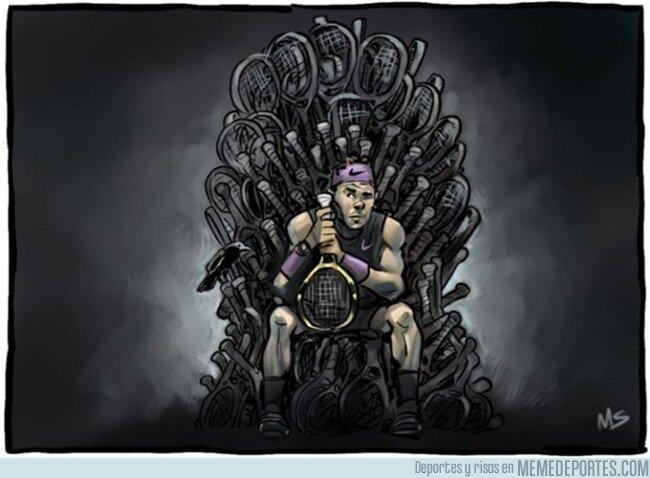 1085472 - Nadal se hace con el trono de nuevo, por @yesnocse