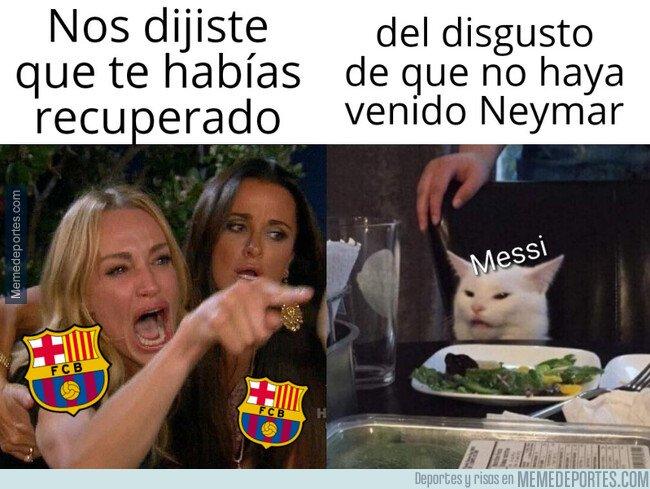 1085545 - El periodo de baja de Messi durará más de lo esperado