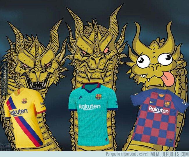 1085633 - El 66,6% de las camisetas del Barça de este año son espectaculares