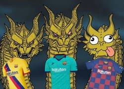 Enlace a El 66,6% de las camisetas del Barça de este año son espectaculares