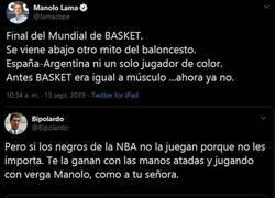 Enlace a La mejor respuesta a Manolo Lama sobre el 'mito' del baloncesto