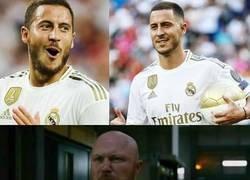 Enlace a Cuando te dicen que se viene el debut de Hazard en Liga