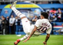 Enlace a Así reaccionaron los fans del PSG que insultan a Neymar