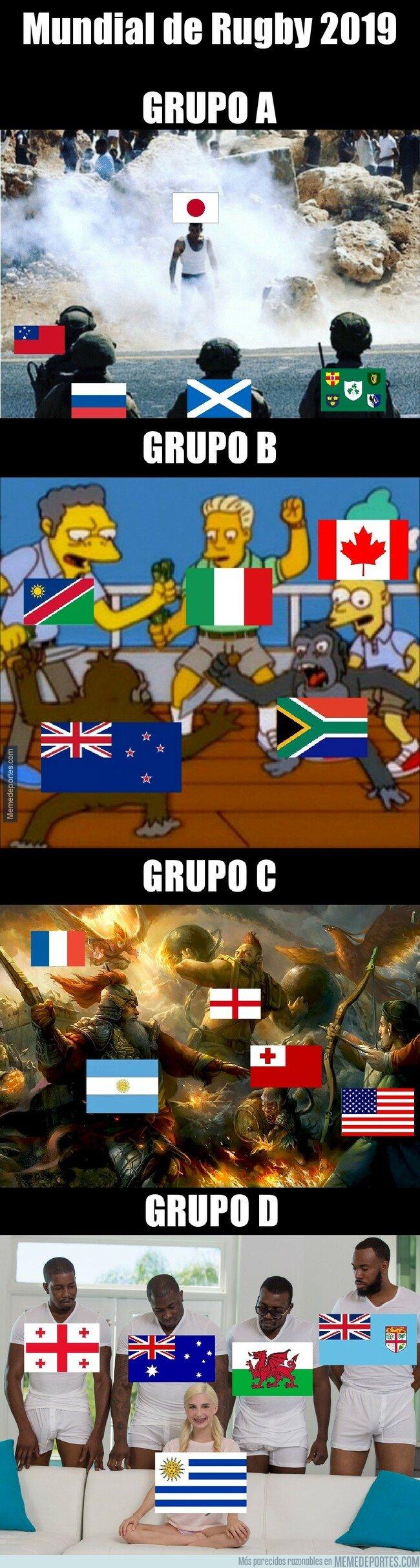 1085861 - Los grupos del Mundial de Rugby