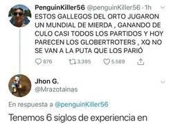 Enlace a Aficionado argentino indignado recibe contestación