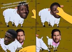 Enlace a Messi y un chaval francés vuelven a entrenar