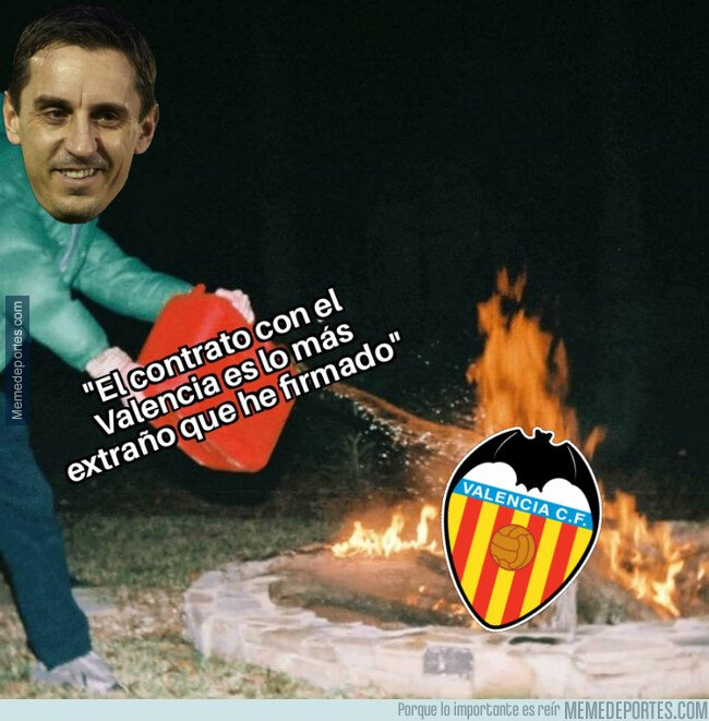 1085966 - Gary Neville aparece ahora para echar más leña al fuego del Valencia