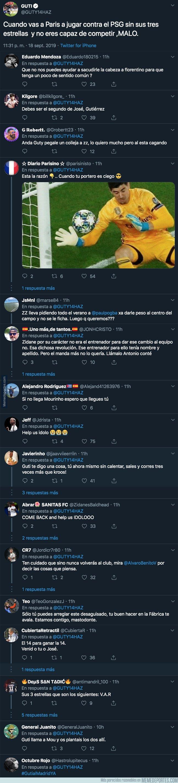 1086206 - Guti carga en Twitter contra el Real Madrid con un mensaje muy tajante tras perder 3-0 en París