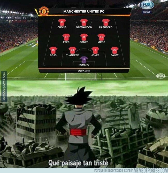 1086247 - Cuando ves la alineación del United en Europa League y te preguntas qué pasó
