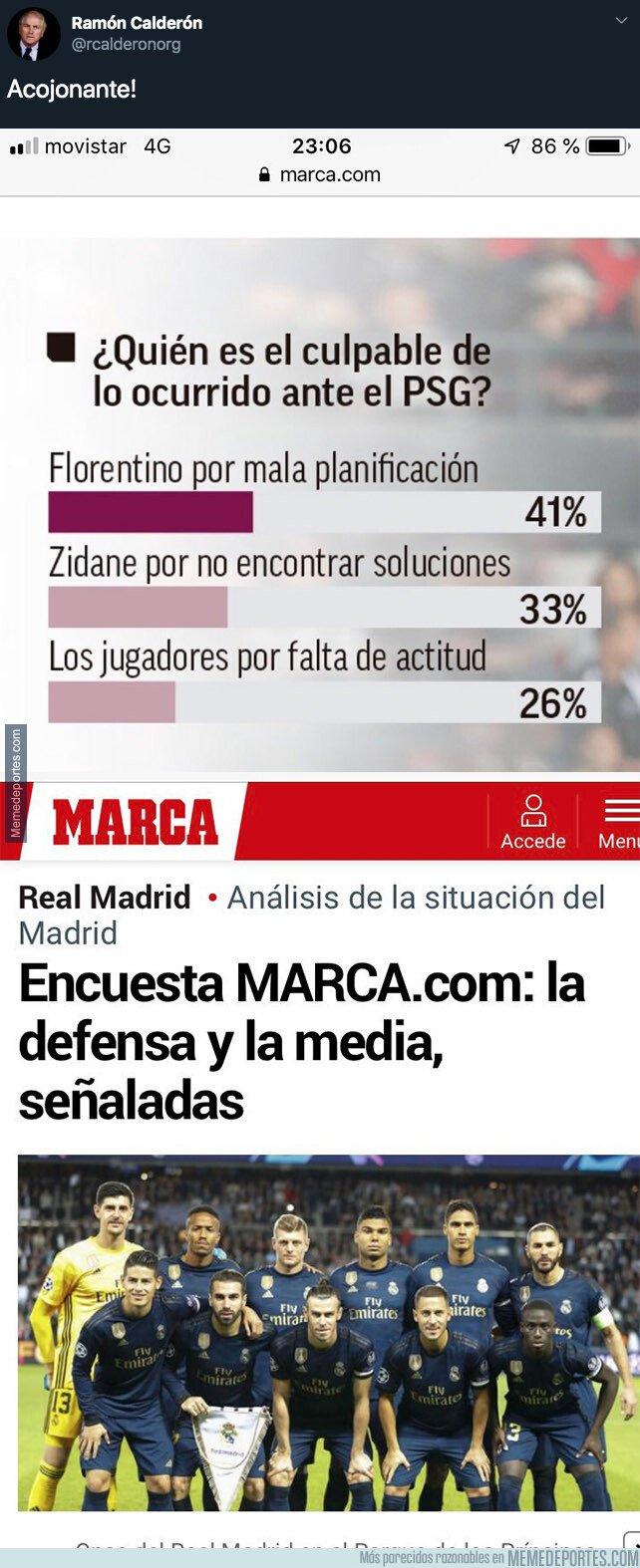 1086294 - Escándalo: Así es como el diario MARCA intenta ocultar la culpa de Florentino Pérez tras la derrota contra el PSG