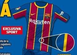 Enlace a Si le hacemos Zoom a la 'nueva' camiseta del Barça