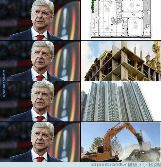 1086457 - Wenger protagonizó todas estas fases con el Arsenal
