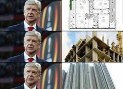 Enlace a Wenger protagonizó todas estas fases con el Arsenal
