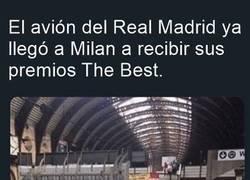 Enlace a La tropa del Madrid llegó al The Best