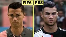Enlace a Así se ven de diferentes se ven los gráficos de los principales jugadores del mundo en el FIFA y PES