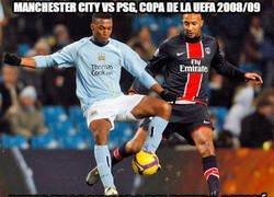 Enlace a No hace mucho tiempo en el City - PSG...