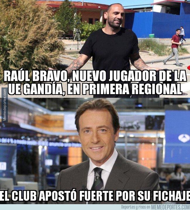 1086814 - Raúl Bravo vuelve al fútbol de la mano del Gandía