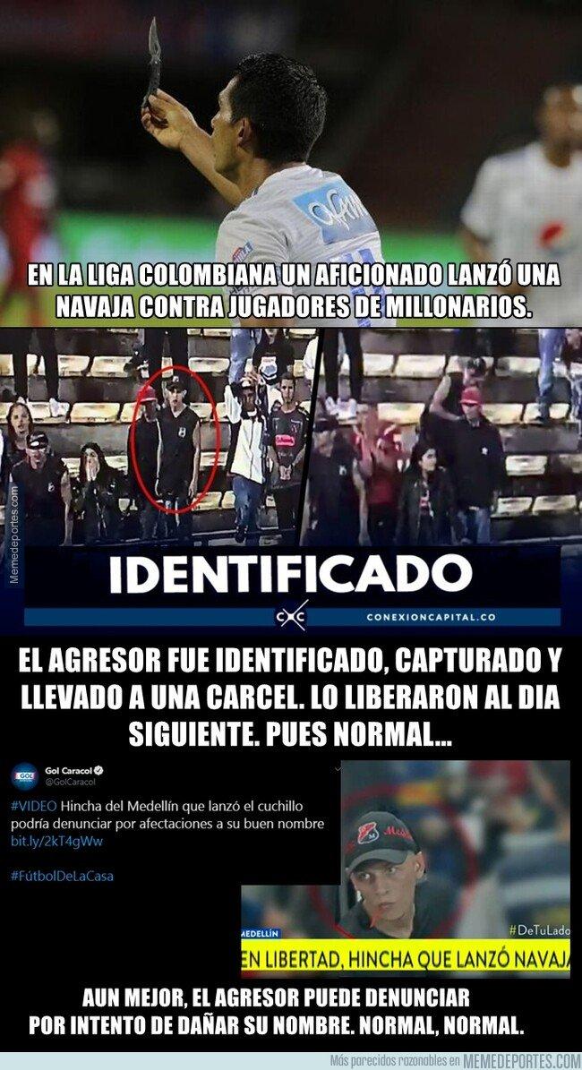 1086834 - El surrealista caso de un agresor en Colombia que acabó teniendo beneficios