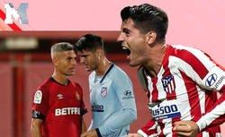 Enlace a Álvaro Morata y Salva Sevilla se enzarzan en Twitter tras la expulsión del cochonero