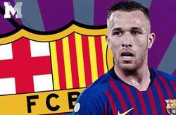 Enlace a Lío monumental por la fiesta que se pegó Arthur junto a Neymar el día antes del juicio contra el Barça de los Neymar
