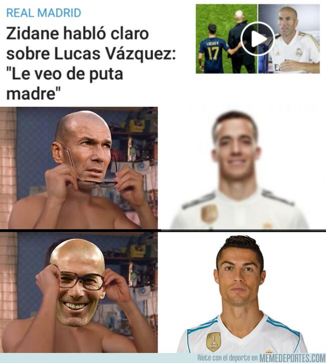 1086982 - Zidane ve a Lucas con otros ojos
