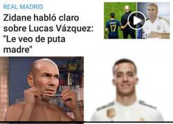 Enlace a Zidane ve a Lucas con otros ojos
