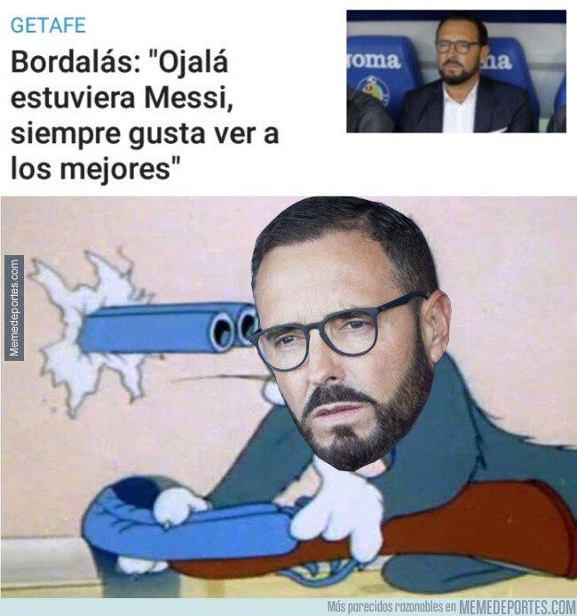 1086985 - Bordalás prefiere tener a Messi enfrente
