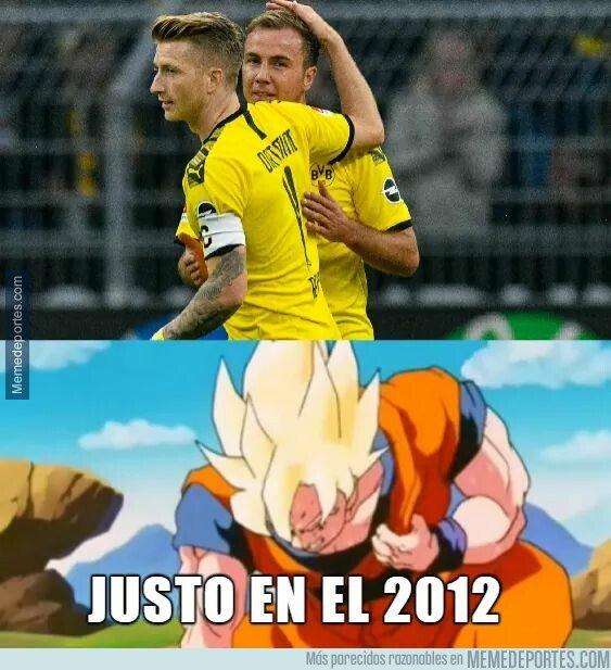 1087023 - Cuando ves que el Dortmund va ganando con goles de Götzeus