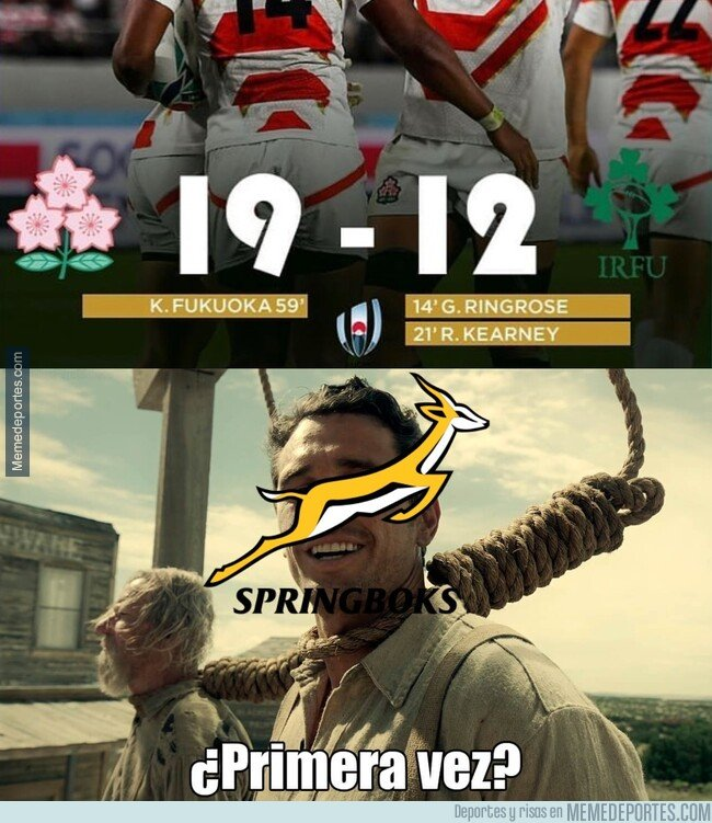 1087107 - No es la primera sorpresa que ha dado el rugby japonés
